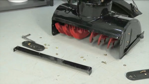 snow blower shave plate