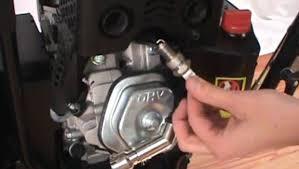 snow blower spark plug