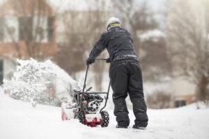 Snowblowing in the Neighborhood